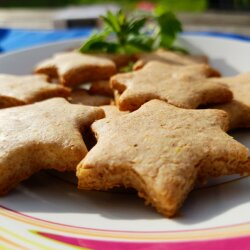 Gingerbread Cookies with Wholemeal Flour for Kids