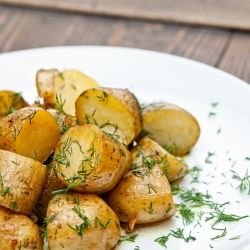 Caramelized Fresh Potatoes