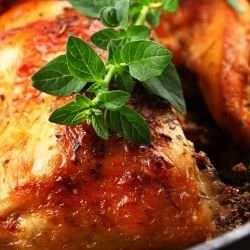 Easy Baked Chicken Legs