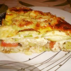 Zucchini and Rice Bake