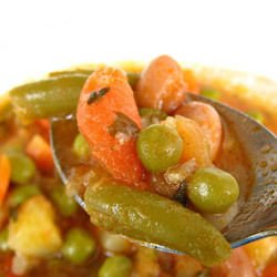 Green Beans with Peas and Tomatoes