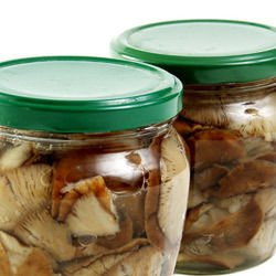 Pickled Mushrooms with Allspice