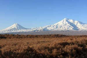 Mount Ararat in Turkey