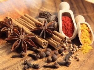 Allspice  and anise