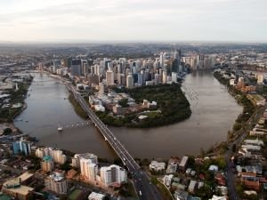Brisbane and Brisbane River