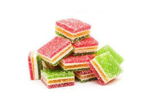 turkish delight pile