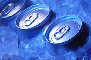 iced cans