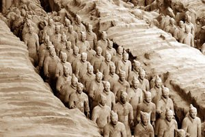 Terracotta Army in Xian
