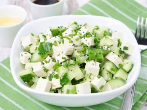 Salad with Chives
