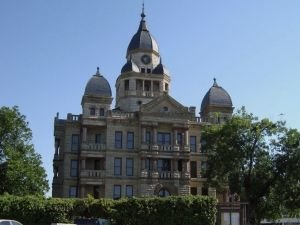 Old Courthhouse in Denton, Texas