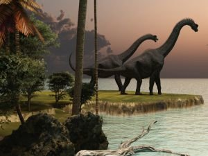 A Volcano Gave Rise to the Age of the Dinosaurs