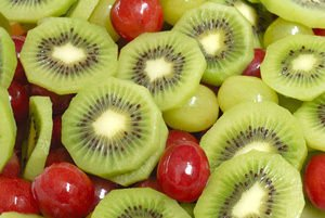 kiwi and fruits