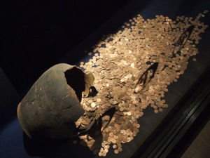 Ten Tons of Coins Discovered in Ancient Tomb