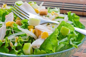 Green Salat with Lettuce