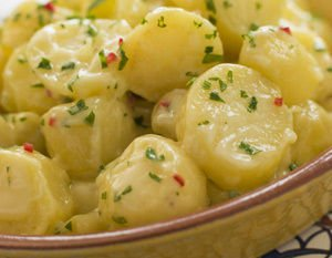 dishes with potatoes