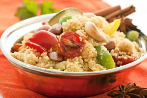 Couscous and veggies
