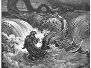 The Mythical Monster Leviathan