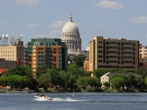 Madison from Lake Monona