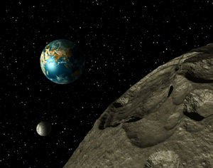 Bus-Sized Asteroid Approaches Earth