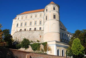 Mikulov Castle in South Moravia