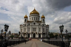 Cathedral Christ the Savior in Moscow