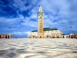 Mosque Hassan II in Casablanca