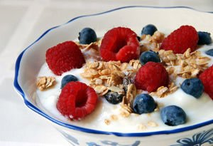 muesli with Forrest Berries