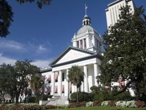 Old Capitol in Tallahassee, Florida