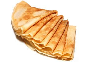 Traditional Double Fried Pancakes