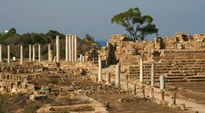 Ancient city of Salamis