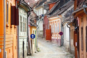 Street in Sighisoara