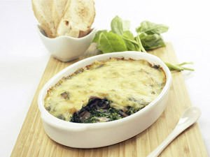 Moussaka with Spinach and Veal