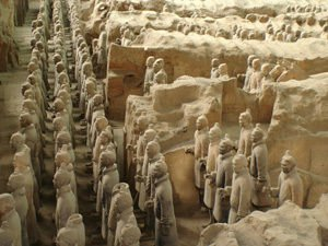 Terracotta Army in China