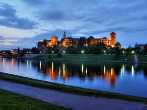 Wawel Royal Palace and Vistula River