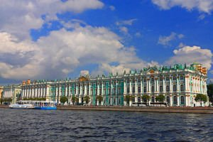 Winter Palace in Sankt Petersburg