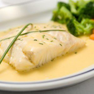 Fish white fish with a fine sauce 0 from rossini put the white fish to for White fish sauce recipe