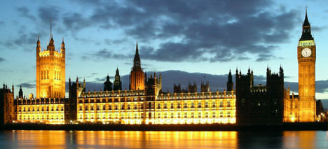 English House of Parliament - Westminster Palace