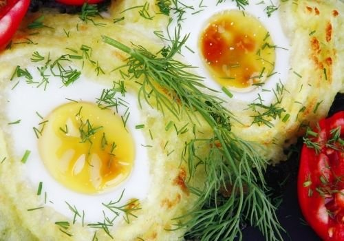Potatoes with Eggs