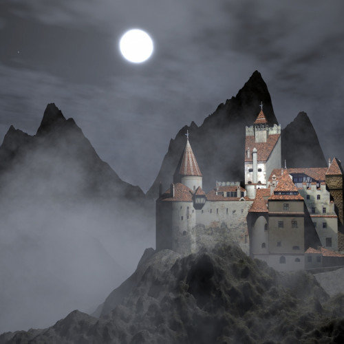 Witches and Vampires Gather at Dracula's Castle