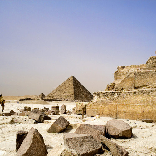 Ancient pyramid inaugurated in Egypt