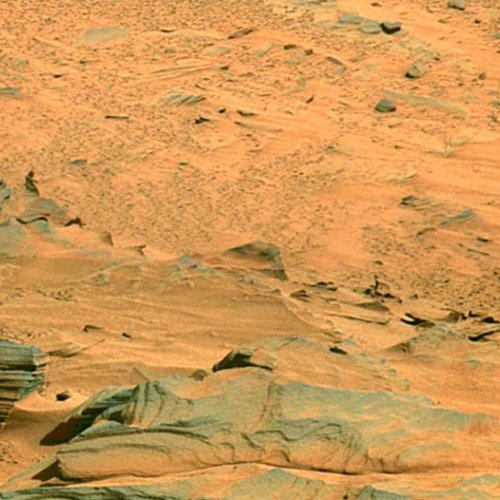The Figure On Mars is a Woman
