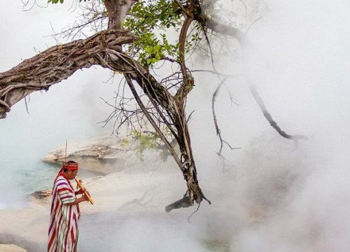 The Legendary Boiling River of Mayantuyacu in the Amazon Boils People Alive