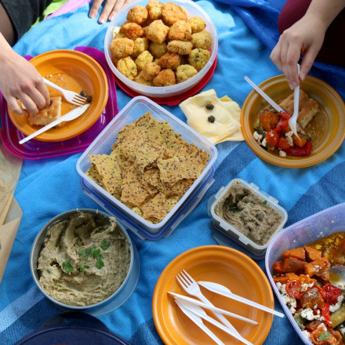 The Perfect Menu for a Day's Outing or Picnic