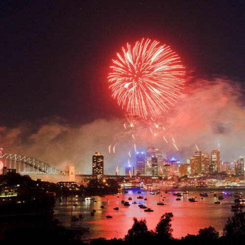 How warm countries welcome the New Year