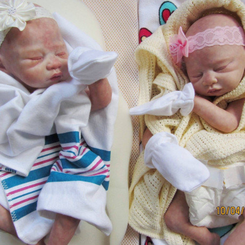 Woman Makes Doll Copies of Dead Babies