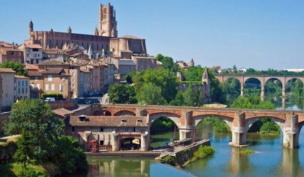 Albi and Tarn River