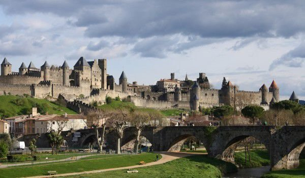 Carcassonne - city castle of France