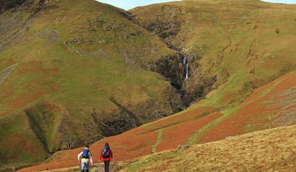 Cautley Spout Waterfall in Yorkshire Dales