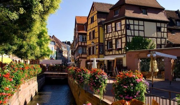 Water Channel in Colmar