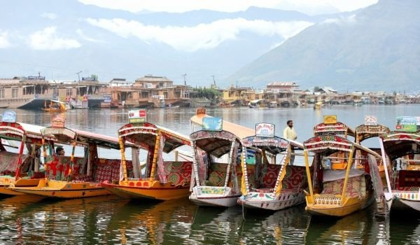 Srinagar and Dal Lake
